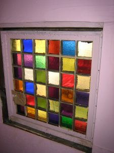 Window on N. 14th St