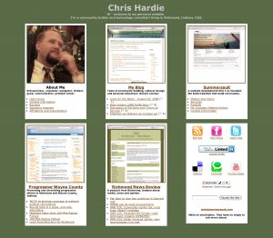 chrishardie.com newer design