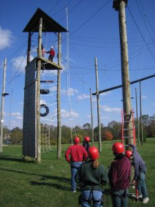 Preparing for High Ropes