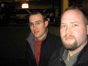 Chris and Mark arriving at SFO
