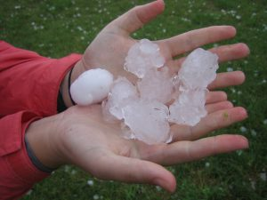Pieces of Hail