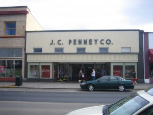 J.C. Penney Co. store downtown