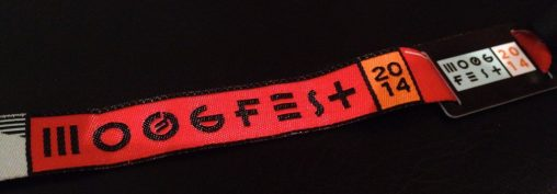 Moogfest 2014 Wristband